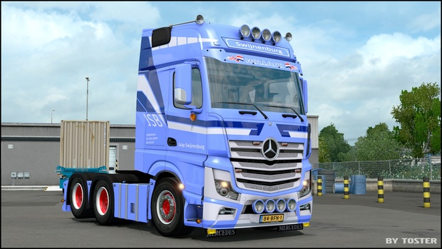 Mercedes MP4 Jaap Swijnenburg Transport ETS 2