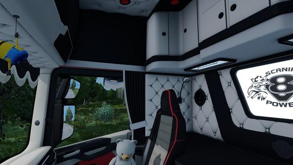Scania S SCS Holland / Danish / Custom Interior ETS 2 ™