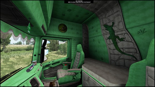 Interior Scania S/R Next Gen LIZARD ETS 2