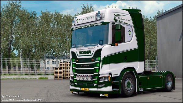 Scania S Van Triest Transport ETS 2