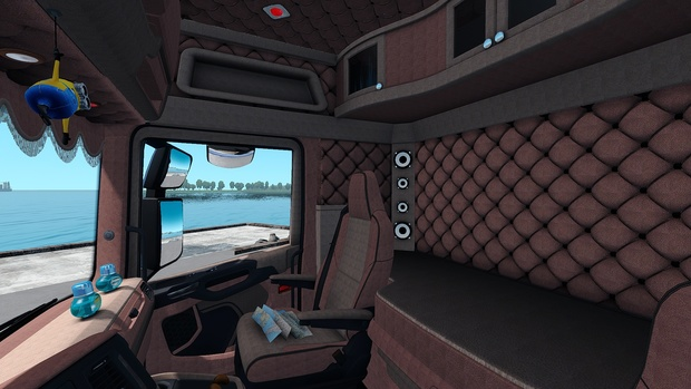 Interior Scania S Next Gen IG NEW ETS 2