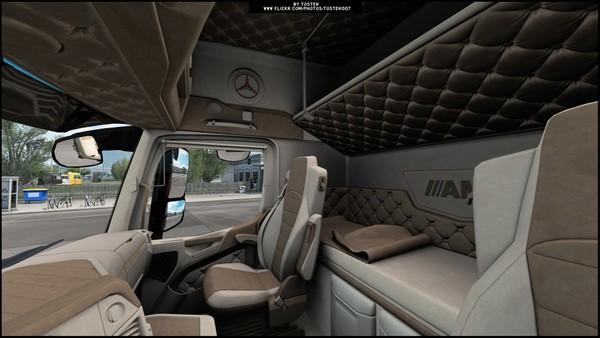 Interior Mercedes MP4 Holland ETS 2
