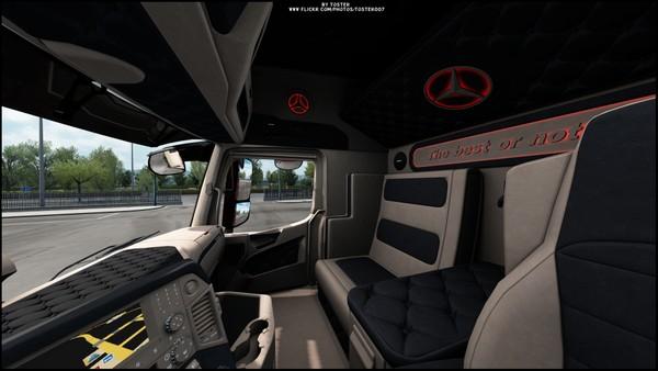 Interior Mercedes MP4 NEW ETS 2