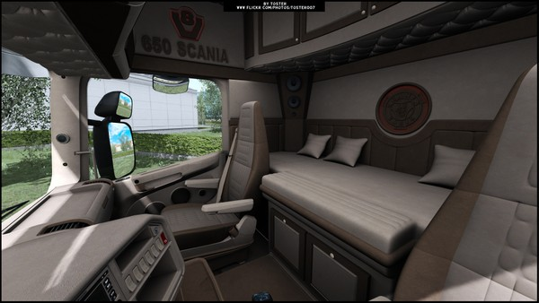 Interior Scania by RJL V888 ETS 2