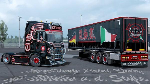 Combo Andreas Schubert Transporte Skin Scania S Next Gen ETS 2