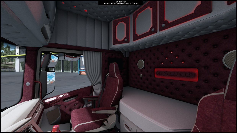 Interior Scania S Next Gen ROLING ETS 2 - TosteR007 Custom