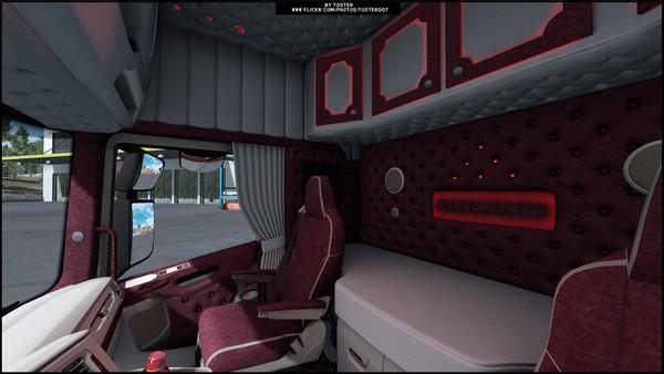 Interior Scania S Next GenROLING ETS 2