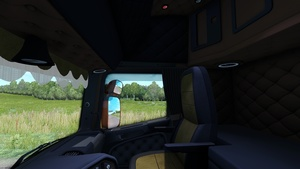 Scania RJL Custom Holland / Danish / Orange Interior ETS 2