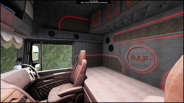 Interior DAF XF105 Holland ETS 2 #1