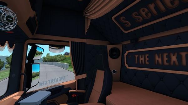 Scania S Holland / Danish / NEXT GEN Interior ETS 2 ™
