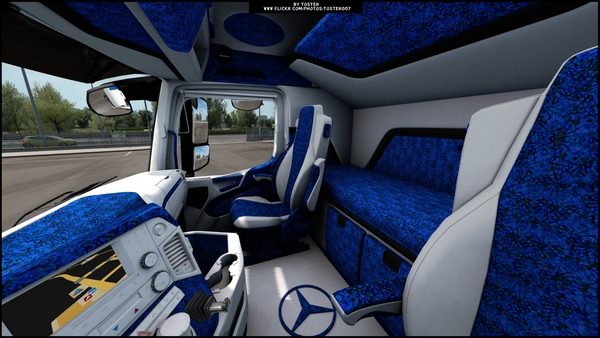 Interior Mercedes MP4 PLUSH ETS 2