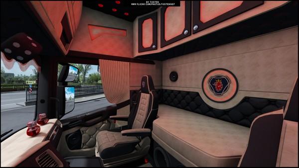 Interior Scania S Next Gen Biege ETS 2