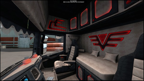 Interior Scania S/R Next Gen 2020 ETS 2
