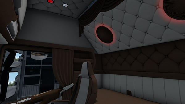 Interior for Scania S NEXT GEN HOLLAND DANISH Brown SCS ETS 2