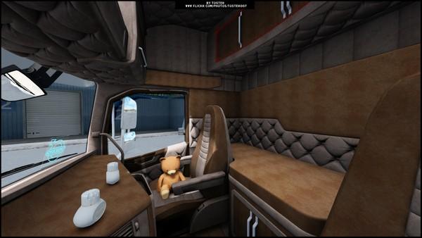 Interior Volvo FH 16 Biege ETS 2