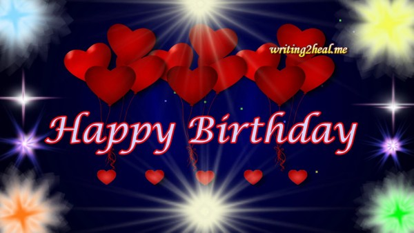 Red Hearts Hbday Wishes