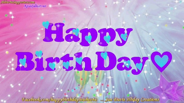 Happy Birthday Gif #15 FREE DOWNLOAD