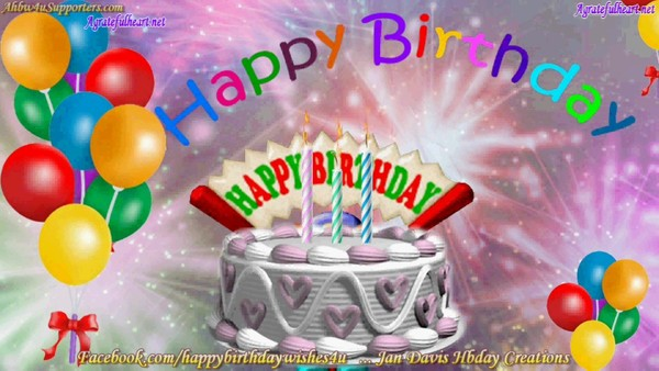 Happy Birthday Gif #16 FREE DOWNLOAD