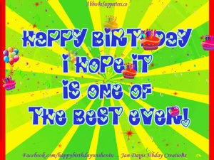 Hbday Best Ever Wishes