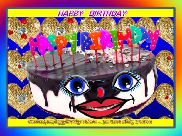 Lena, Singing Happy Birthday Cake