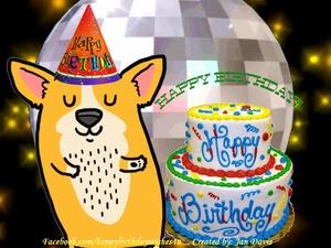 Happy Birthday Dog Dancing