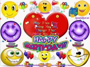 Make U Smile hbday greeting