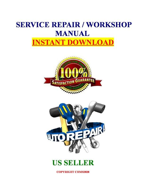 Infiniti QX4 R50 1997 1998 1999 2000 2001 Service Repair Manual Download