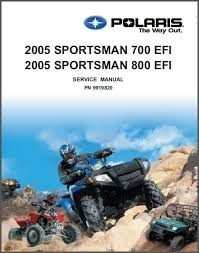 2005 Polaris Sportsman 700 EFI and 800 EFI Service Repair Manual