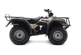 Suzuki king quad 300 service manual.