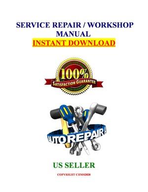 Infiniti I30 A32 A33 1996 1997 1998 1999 2000 2001 Service Repair Manual Download