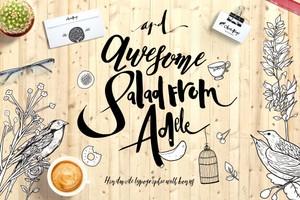 Adele 5 fonts+bonus inside !!!