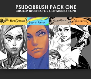 PsudoBrush Pack One