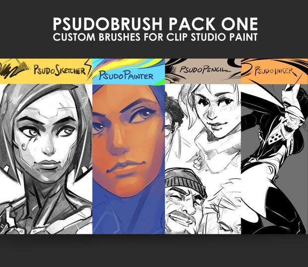 PsudoBrush Pack One