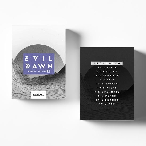 Evil Dawn V1 Drumkit by SkyroBeats