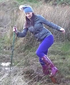 Jess winter walk