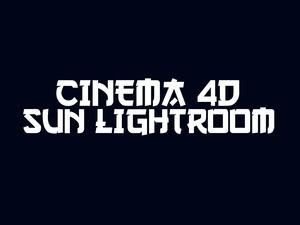 Very nice Cinema 4D SUN LIGHTROOM