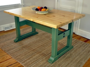 Trestle Table Woodworking Plans