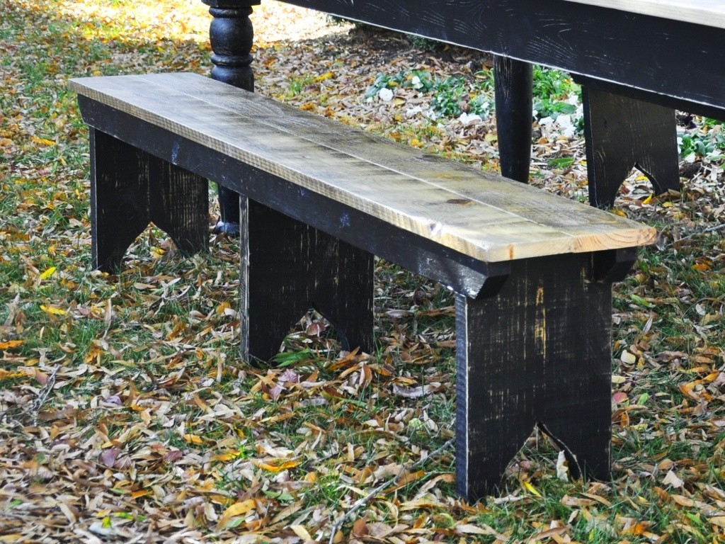 Farmhouse Bench Woodworking Plans Easy To Build The Homestead Craftsman