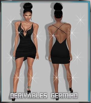 texture blackdress