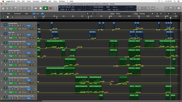 Wrong Time, Wrong Space 🎵 Logic Pro X Template Download 🎵 Music Project from Award Winning Animation