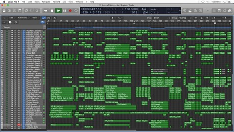 ARMY OF DOOM - Logic Pro X Template Download (Epic Orchestral Music) JON BROOKS