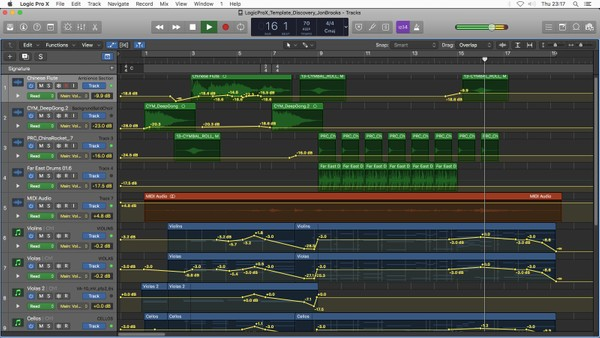 DISCOVERY - Logic Pro X Template Download (Dramatic Orchestral Music) Jon Brooks
