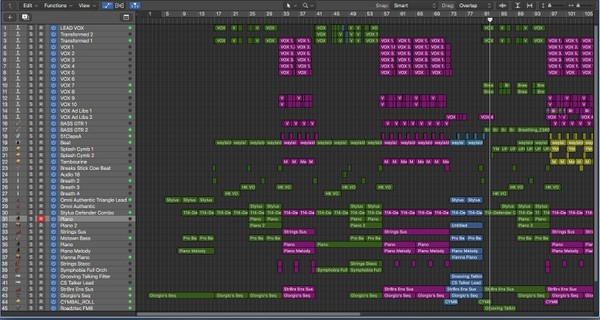 BREATHING - Logic Pro Download Template LPX (Jon Brooks Composer)