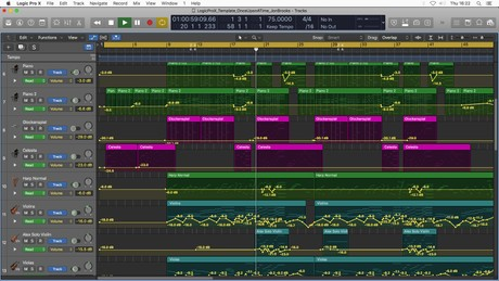 Once Upon a Time 🎵 Logic Pro X Template Download (Disney style Orchestral Music) Jon Brooks