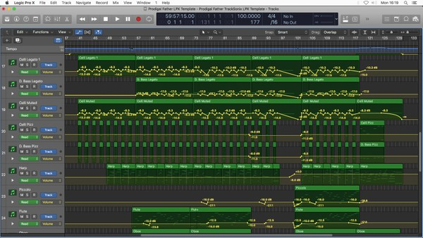 PRODIGAL FATHER - Logic Pro X Template Download - Jon Brooks - Piano and Orchestra