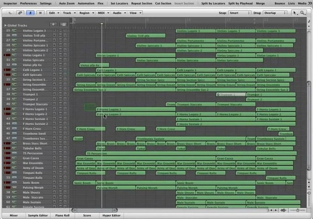 NATIONAL DAY - Logic Pro Template Download (Jon Brooks Composer)