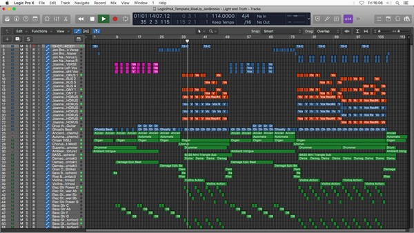 Rise Up - Logic Pro X Template Download (Pop/Rock Song)