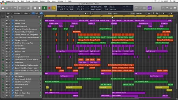 Asylum 🎵 Logic Pro X Template Download 🎵 Dark Ambient Electronic Music
