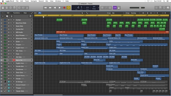 ALLELUJAH - Logic Pro X Template Download (Jon Brooks) Spiritual Inspirational Orchestral Song