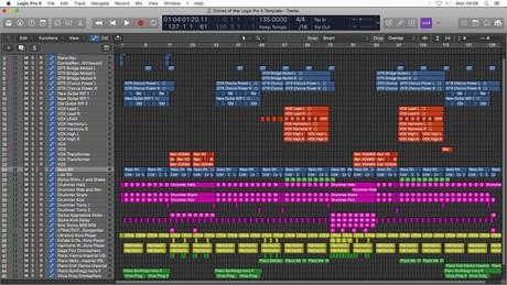 Crimes of War - Logic Pro X Template Download (Pop Song)